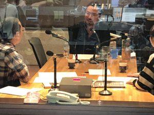 朝日放送のラジオに生出演